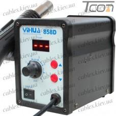 Термовоздушная паяльная станция с дисплеем YIHUA 858D, 650W, 100-450°C