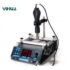 Преднагреватель плат 2в1 YIHUA 853AA, с феном
