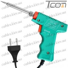 Паяльник-пистолет ZD-80, 40W (30-130W Max), 220V, Zhongdi