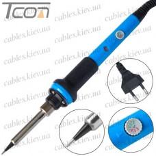 Паяльник HandsKit 939 с регулятором температуры и LED индикатором, 60W, 220V, 200- 450°C, керамический нагреватель