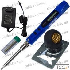 Паяльник ZD-8950 с регулировкой температуры и LCD дисплеем, 10-30W, 220V, Zhongdi