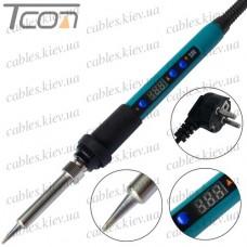 Паяльник HandsKit 919 с регулятором температуры и LCD дисплеем, 90W, 220V, 160-480°C, керамический нагреватель
