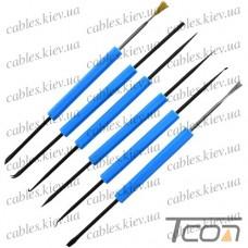 Набор инструментов для пайки ZD-15 (6шт.), Zhongdi