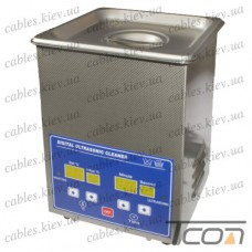 Цифровая ультразвуковая ванна PS-10A, 2,0л, 70Вт, металлическая, Jeken