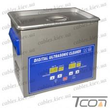 Цифровая ультразвуковая ванна PS-20A, 3,2л, 120Вт, металлическая, Jeken