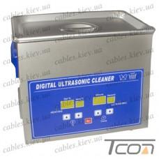 Цифровая ультразвуковая ванна PS-30A, 6,5л, 180Вт, металлическая, Jeken