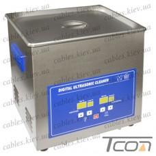 Цифровая ультразвуковая ванна PS-40A, 10л, 240Вт, металлическая, Jeken
