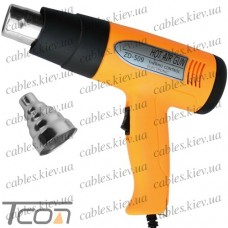 """Термофен """"Zhongdi"""" ZD-509, два режима 250-800W 50-350°С и 250-1500W 50-500°С"""