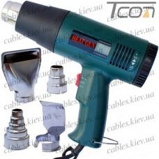Термофен технический, два режима 250-800W 60-400°С и 250-1800W 60-600°С, HandsKit