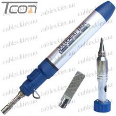 Паяльник-горелка газовый EX-061 с насадками, блистер EXtools