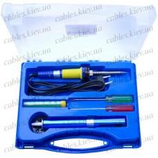 Набор ZD-921B (паяльник, подставка, припой, оловоотсос, отвёртки 2шт), Zhongdi
