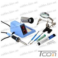 Набор ZD-99Kit (станция ZD99+третья рука+оловоотсос+наконечники), Zhongdi