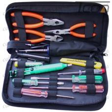 Набор ZD-905 (отвертки, паяльник, оловоотс, нож, кусачки, плоскогубцы), Zhongdi