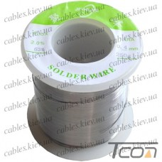 Припой оловянно-свинцовый ПОС-63  диам.-0,4мм, 250гр.катушка, Jufeng