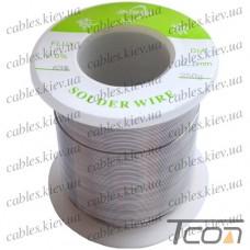 Припой оловянно-свинцовый ПОС-63  диам.-0,6мм, 250гр.катушка, Jufeng