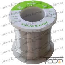 Припой оловянно-свинцовый ПОС-60  диам.-0,4мм, 250гр.катушка, Jufeng