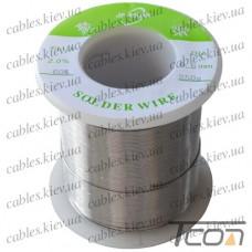 Припой оловянно-свинцовый ПОС-60  диам.-0,6мм, 250гр.катушка, Jufeng