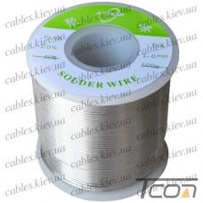 Припой оловянно-свинцовый ПОС-60  диам.-1мм, 500гр.катушка, Jufeng