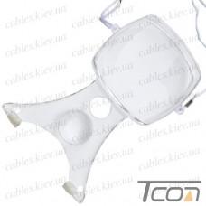 Лупа для вышивания MG11088, 2Х, диам-100мм +4Х, диам-38мм, Zhongdi