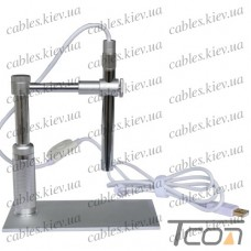 Портативный USBplus микроскоп цифровой 200Х кратное увеличение, Tcom