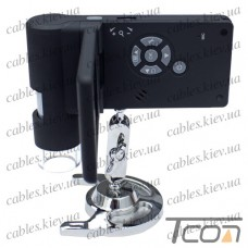 """Мобильный USB-микроскоп с 3"""" TFT-дисплеем и камерой 5 Мпикс, 200Х (500X digital), Tcom"""