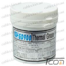Термопаста GD900 (теплопроводность 4.8 Вт/мК), 150гр., банка, серая