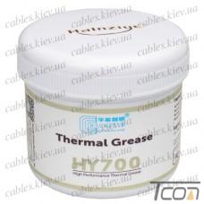 Термопаста HY710 Halnziye, серая, 100гр. банка