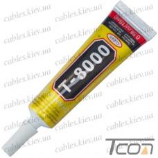 Клей-герметик T-8000 15мл., с дозатором, Zhanlida