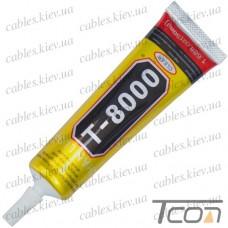 Клей-герметик T-8000 50мл., с дозатором, Zhanlida