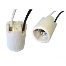 "Патрон керамический c проводом, тип цоколя Е14 ""Tcom"""