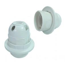 Патрон термопластиковый, для люстр, тип цоколя Е27, Tcom