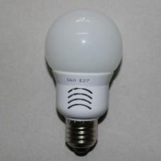 Лампочка светодиодная 220В, 5Вт, Е27, 3000K, тёплый свет, диам.-60мм, LED Star