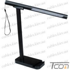 Настольная LED лампа, разборная, переносная, чёрная, MagicLamp