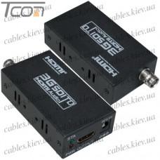 Конвертер 3G SDI в HDMI (гнездо BNC - гнездо HDMI)