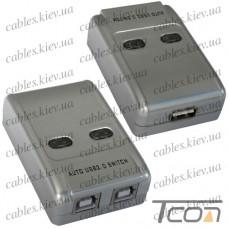 Разветвитель USB A на 2 гнезда USB B (MT-SW221), MT-VIKI