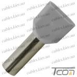 Кабельный наконечник трубчатый с изоляцией двойной 2х0,75кв.мм (100шт.) (ТЕ-7510), Tcom