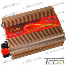 Инвертор с 12V в 220V, 300W (SAA-300A + USB), SOLAR