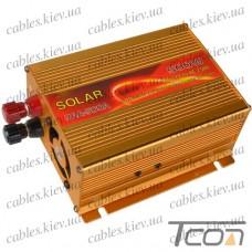 Инвертор с 12V в 220V, 500W (SAA-500A + USB), SOLAR