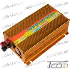Инвертор с 12V в 220V, 1000W (SFA-1000 + USB), SOLAR