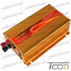 Инвертор с 12V в 220V (SAA-1500A + USB), SOLAR
