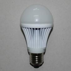 Лампочка светодиодная 220В, 9Вт, Е27, 6500K, холодный свет, диам.-60мм, LED Star