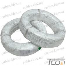 Провод силиконовый 1жила 16AWG (1,3мм.кв.), белый, 200м, HandsKit