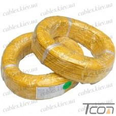 Провод силиконовый 1жила 16AWG (1,3мм.кв.), жёлтый, 200м, HandsKit