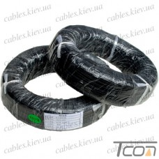 Провод силиконовый 1жила 14AWG (2,0мм.кв.), чёрный, 200м, HandsKit