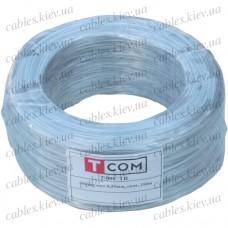 Упаковочная проволока в ПВХ изоляции прозрачная, бухта 250м, Tcom