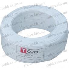Упаковочная проволока в ПВХ изоляции белая, бухта 250м, Tcom