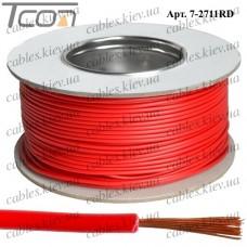 Провод монтажный ПВ-3 (0,35кв.мм.), алюминиево-медный, 100м, красный