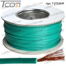 Провод монтажный ПВ-3 (0,50кв.мм.), алюминиево-медный, 100м, зелёный