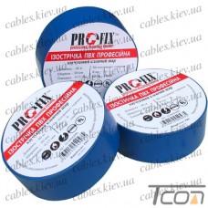 Изолента  электротехническая 0,13мм х 30мм, 40м синяя, Profix