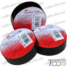 Изолента электротехническая 0,13мм х19мм, 20м, чёрная, 3M-TEMFLEX™